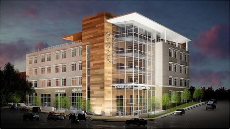 Marriott owners announce new 5-story mixed-use building